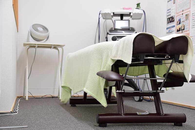 電気治療、低周波、機械のけん引